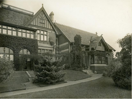 North Park Exterior, Early 20th C