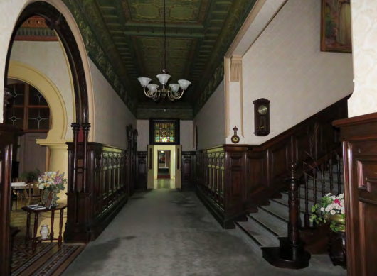 Interior Ground Floor Hallway