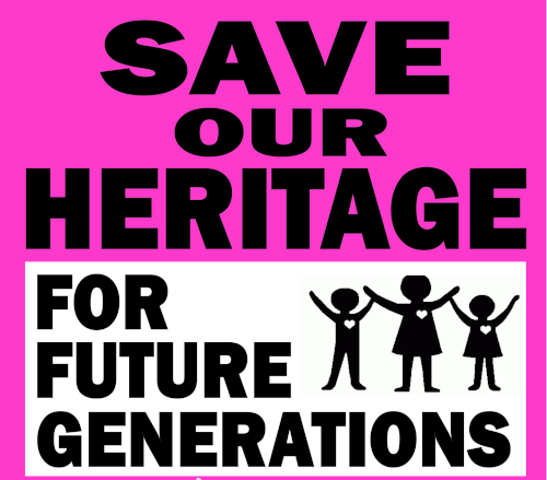 save heritage future generations